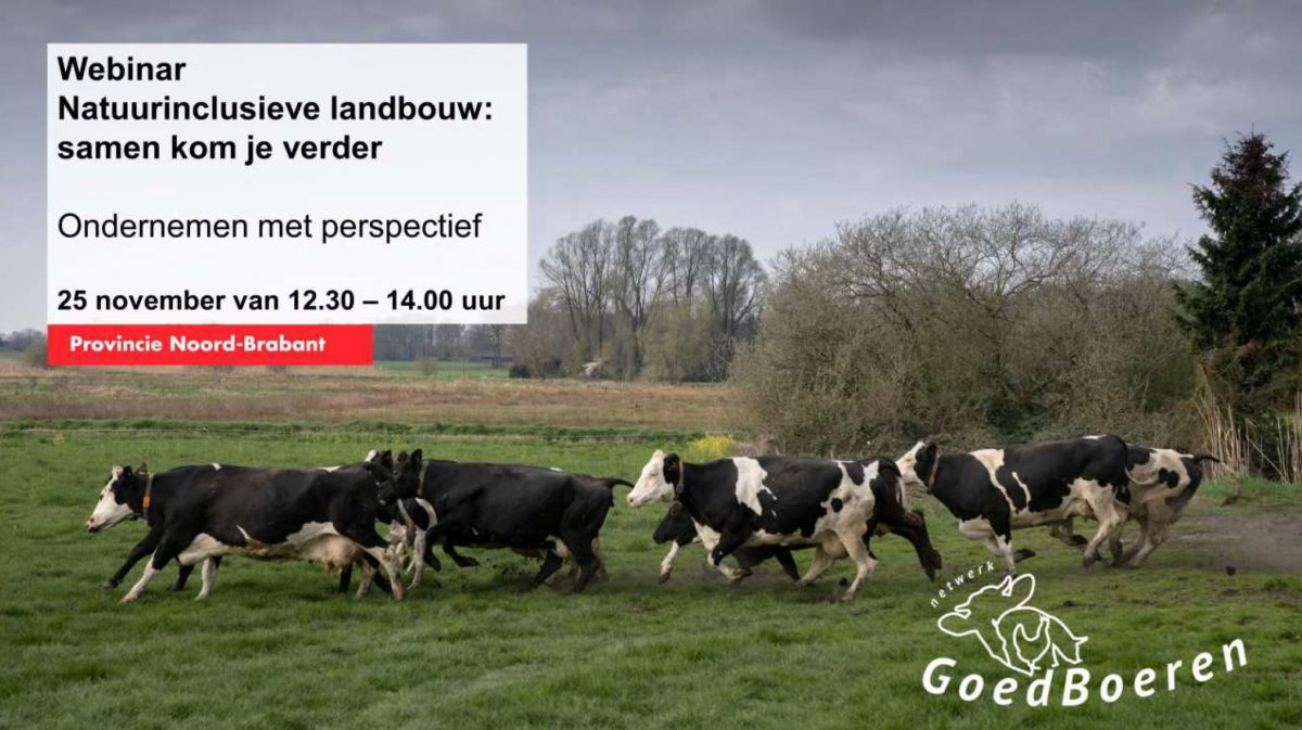 Webinar | Natuurinclusieve landbouw
